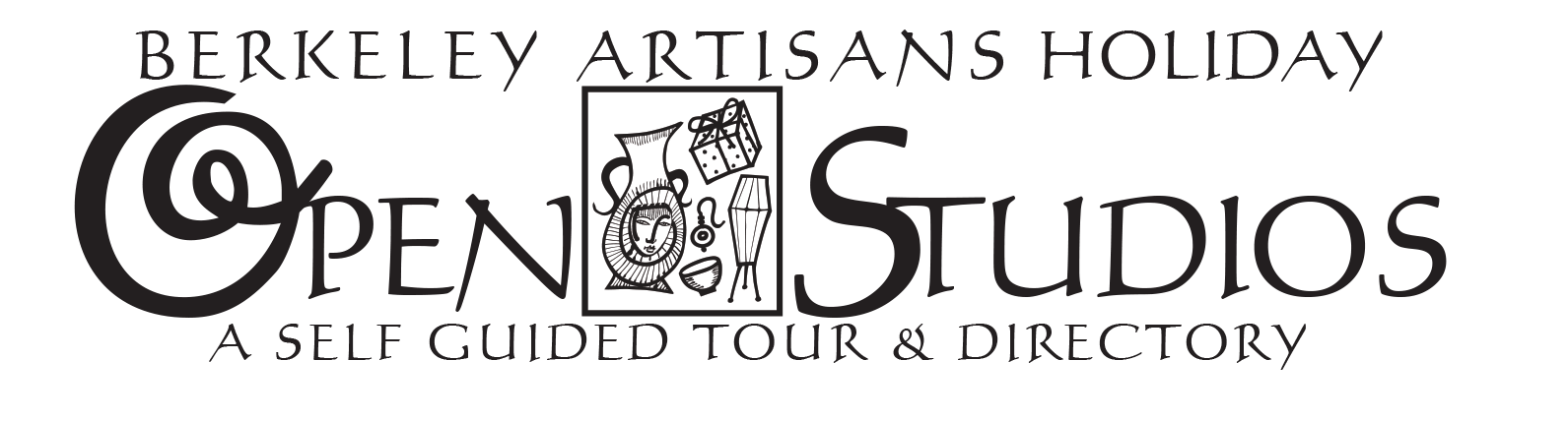BERKELEY ARTISANS HOLIDAY OPEN STUDIOS<br><small>A Free Self-Guided Tour of Workshops & Galleries</small>